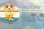 Yellow Lotus Flower by Jen Myzel